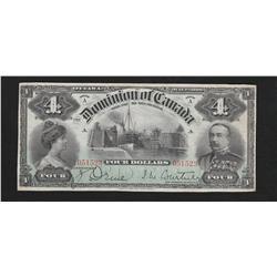1900 Dominion of Canada $4