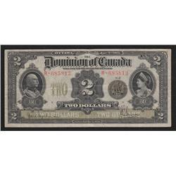 1914 Dominion of Canada $2