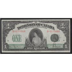 1917 Dominion of Canada $1