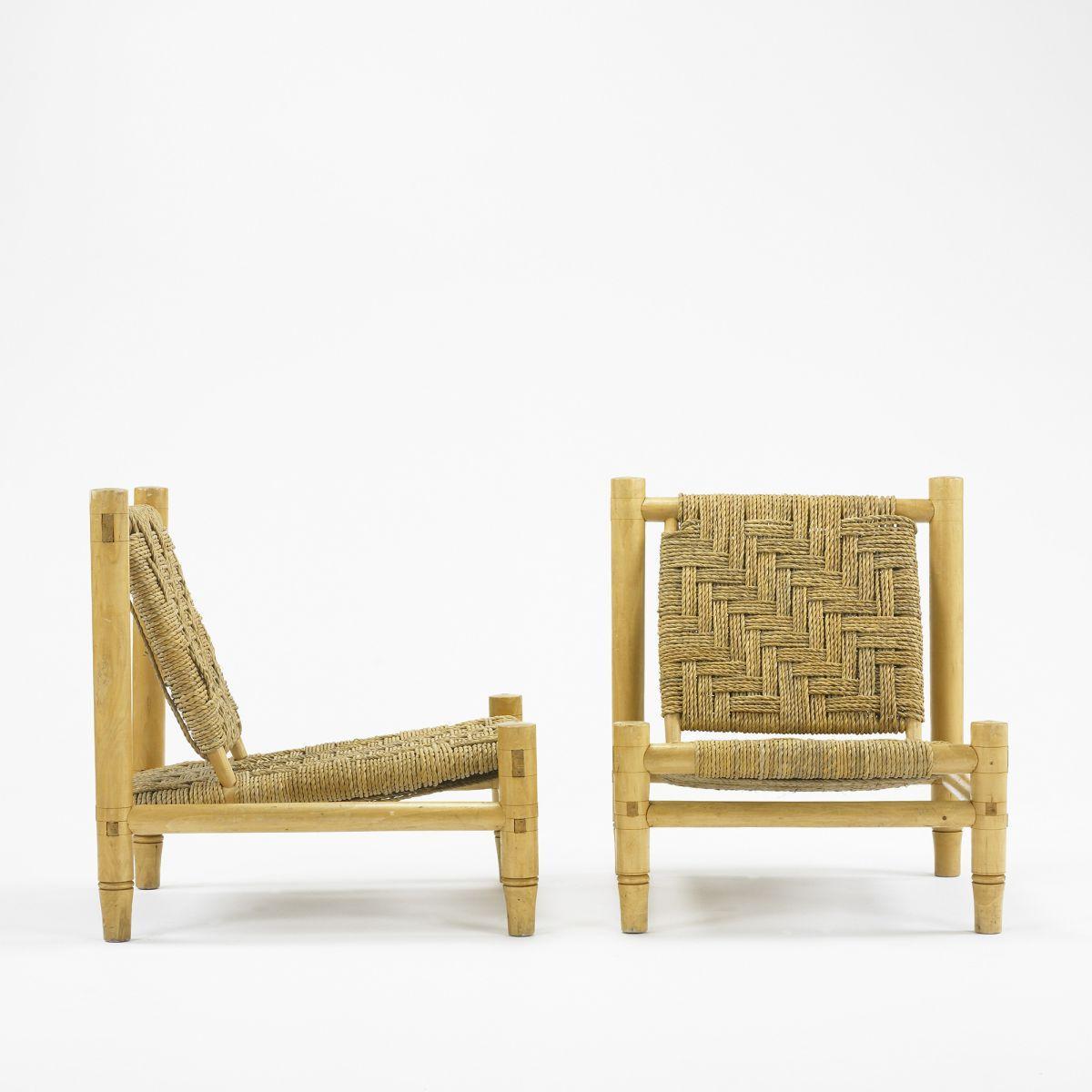 Astonishing Manner Of Charlotte Perriand Lounge Chairs Pair Inzonedesignstudio Interior Chair Design Inzonedesignstudiocom