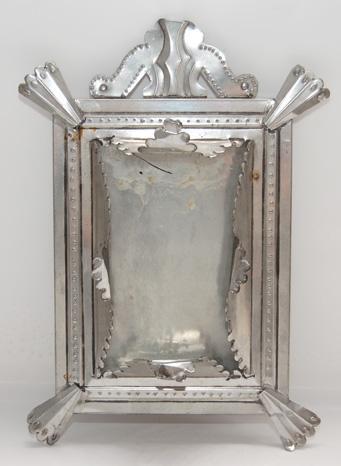 Mexican Tin Frame R G Munn Auction Llc