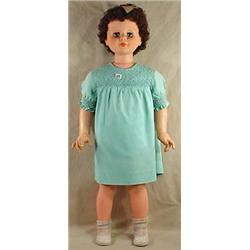 VINTAGE PATTY PLAY PAL STYLE DOLL - BRUNETTE - 35""
