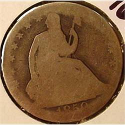 1850-O SEATED LIBERTY HALF DOLLAR