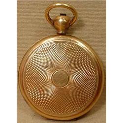 VICTORIAN OR EDWARDIAN GOLD FILLED HAIR LOCKET
