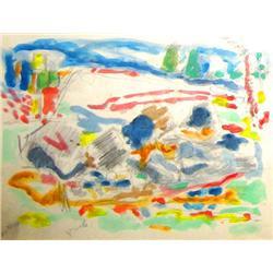 Yechezkel Streichman, Israeli art