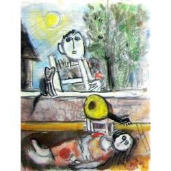 Leo Roth, Israeli art