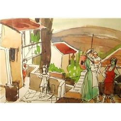 Elyahu Sigard, Israeli art
