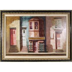 P. Alfieri, Chez Vito, Painting