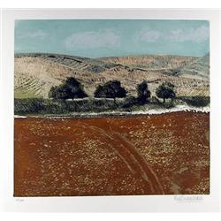 Pino Finocchiaro, Lot of 3 Italian Landscape Lithographs