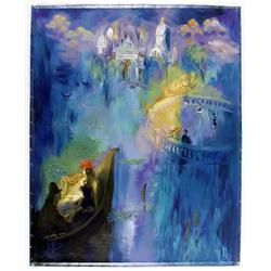 Hailan, Dreams of Venice, Serigraph