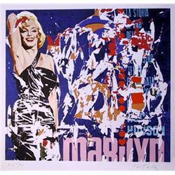 Mimmo Rotella, Marilyn, Serigraph