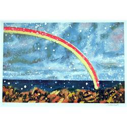 Antonio Recalcati, Rainbow, Lithograph