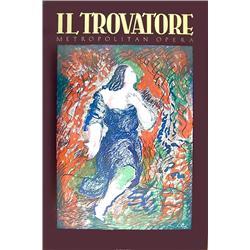Sandro Chia, Il Trovatore (Metropolitan Opera), Poster