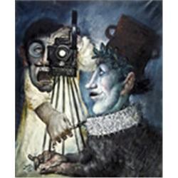 Mario Russo, il Primo a Hore e il Regista, Painting