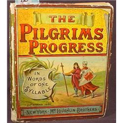 "C. 1884 ""THE PILGRIMS PROGRESS"" MCLOUGHLIN BROS. H"