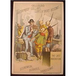 VICTORIAN TRADE CARD ETHNIC CHINESE LAUNDRY CELLUL