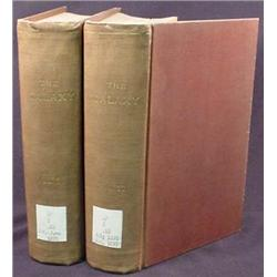 LOT OF 2 1876 BOUND VOLS. OF THE GALAXY MAGAZINE I