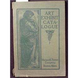 1906-1907 ART EXHIBIT CATALOG OF ARTWORK - Artwork