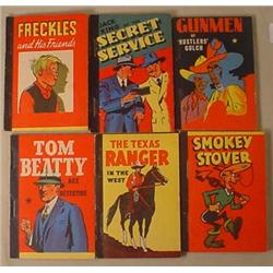 LOT OF 6 1930'S ADVERTISING PREMIUM BOOKS - Incl.