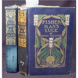 LOT OF 2 EARLY 1900'S VAN DYKE HARDCOVER BOOKS - 1