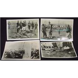 LOT OF 4 VINTAGE PHOTOS - GRUESOME - WW2 or Earlie