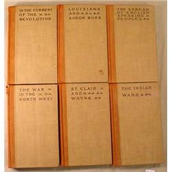 "1905 ""THE WINNING OF THE WEST"" 6 VOL. SET BY THEOD"