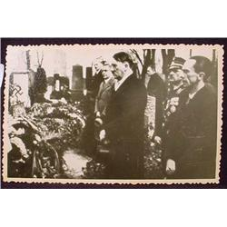 WW2 NAZI GERMAN ADOLF HITLER PHOTO - HITLER ATTEND