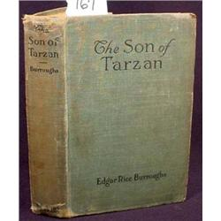 "1918 ""THE SON OF TARZAN"" HARDCOVER BOOK BY EDGAR R"