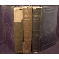 "LOT OF 3 1855 - 59 ""LIFE OF GEORGE WASHINGTON"" HAR"