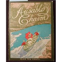 1910'S GUIDE BOOK TO AUSABLE CHASM IN NEW YORK