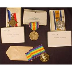 LOT OF 4 VINTAGE MILITARY MEDALS - UNUSED - Incl.