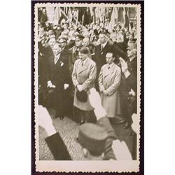 WW2 NAZI GERMAN ADOLF HITLER PHOTO - HITLER IN CRO