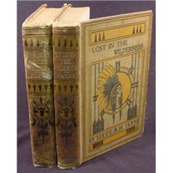LOT OF 2 LIEUT. RH JAYNE BOOKS - APACHE AND WILDER