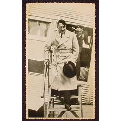 WW2 NAZI GERMAN ADOLF HITLER PHOTO - HITLER EXITIN