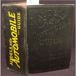"""1954 """"AUDELS NEW AUTOMOBILE GUIDE"""" HARDCOVER BOOK"""
