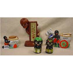 LOT OF BLACK AMERICANA ITEMS - Incl. Thermomater,