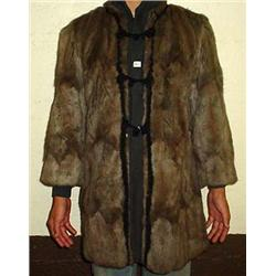 LACHELLS SALEM BEAVER FURCOAT - There is a small h