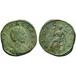 Roman Emp., Julia Maesa, Sestertius 218-222
