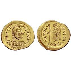 Byzantine Emp., Anastasius I, Solidus 498-518