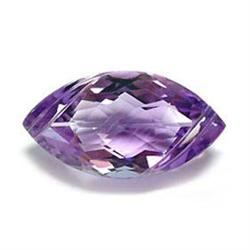 .6ct. Marquise Natural Amethyst 10mm RETAIL $250 (GMR-0128)
