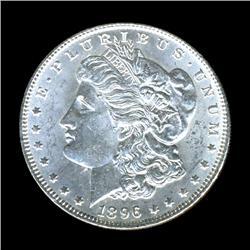 1896 Morgan Dollar MS64+ RARE Error (COI-4061)