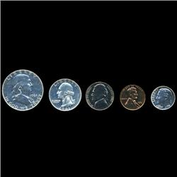 1961 US Coin Silver Proof Set Super Gem Coins UNSEARCHED (COI-2461)