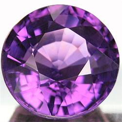 1.25ct. Round Natural Amethyst 7mm RETAIL $350 (GMR-0127)