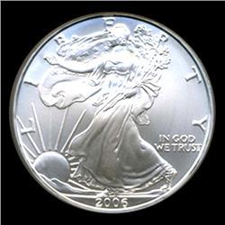 2006 Silver Eagle Graded GEM MS70 (COI-4070)