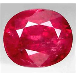 1.66ct RARE Top AAA Mozambique Pink Red Ruby VS Oval Cut  RETAIL $1400 (GEM-7288)