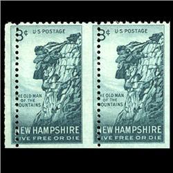 1955 RARE US Postage Stamp ERROR Mint (STM-0024)