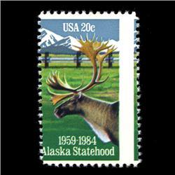 1984 RARE US Postage Stamp ERROR Mint (STM-0002)