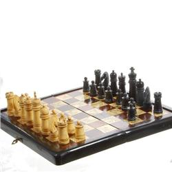 Rosewood & Bone Chess Set Wood Storage Box (CLB-091)