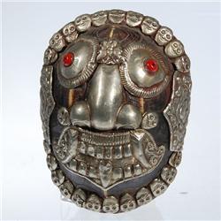 Tibetan Ritual Turtle Shell Mask (ANT-083)