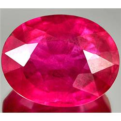 4.07ct RARE Graceful Natural Red Pink Ruby Mozambique Gem CLEAR RETAIL $3050 (GEM-7035)